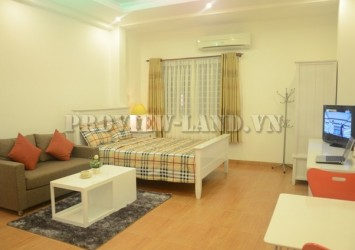 1 bedrooms service apartment for rent on Nguyen Trai Street District 1