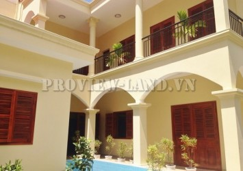 4 bedroom villa for rent in Thao Dien with nice garden and swimming pool