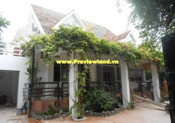 Nice villa for rent in Tran Nao Compound
