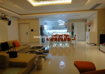 City view Cute Penthouse Saigon Pearl for rent in Binh Thanh District