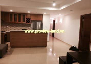 The 2 bedrooms apartment for rent in Rivergarden, nice interior