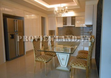 Cantavil Hoan Cau apartment in Binh Thanh District with 3 bedroom pool view
