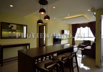 Apartment for rent on 22th floors in Tropic Garden river view