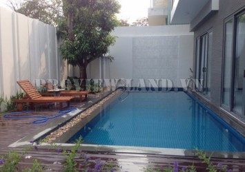 Luxury villa for rent in Thao Dien with nice pool and garden