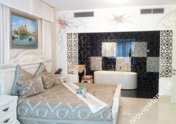 Apartment in Ben Thanh Times Square for rent high floor 2 bedrooms