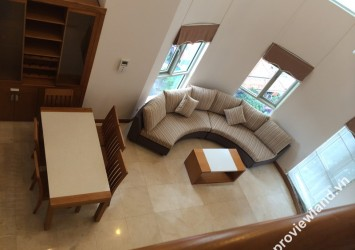 Duplex apartment in Saigon Pavillon for rent 164sqm