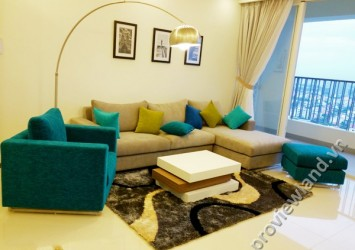 Apartment in Thao Dien Pearl for rent 115sqm 2 bedrooms nice view