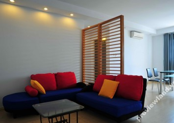 Apartment in Central Garden for rent 78sqm 2 bedrooms best price