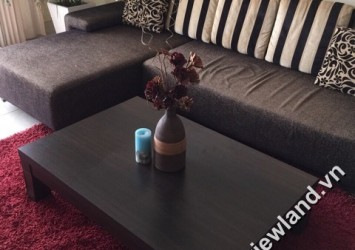 Apartment in Hung Vuong Plaza for rent 3 bedrooms high floor