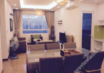 Apartment in Tropic Garden for rent 88sqm 2 bedrooms