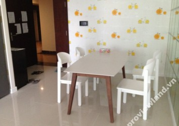 Apartment for rent in Sunrise City Central high floor area 98m2