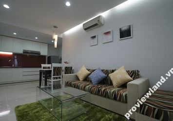 International Plaza apartment for rent in District 1 fully equipped 53m2