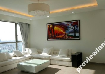Apartment for rent in Riviera Point 147m2 3 bedrooms riverview