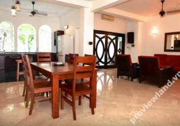 French villas for rent in Vo Van Tan District 3