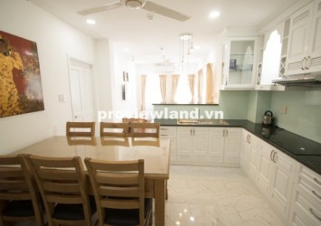 serviced apartment for rent on Nguyen Trai Street in District 1