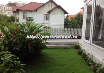 House for rent located on Nguyen Van Huong with 5 floors