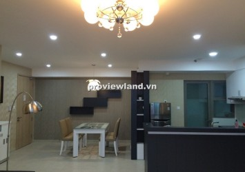 Leasing apartment in Riviera Point 100sqm 2 bedrooms view Phu My Hung landscape