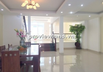 Leasing brand new villa in District 2 7x20m 3 floors basic furniture for office or housing