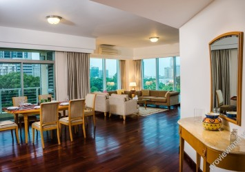Serviced Apartment For Rent In Indochina Park Tower 3 Bedrooms With Imported Ings And Furniture