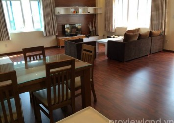 Serviced apartment for rent in District 2 Tong Huu Dinh Street 250sqm 3 beds standards like Penthouse