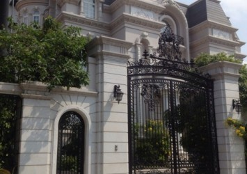 Villa for sale on Dang Huu Pho Street 1050sqm 4 floors French style high profit