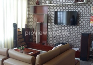 Apartment for rent in Phu Hoang Anh 130sqm 3 bedrooms lofthouse style