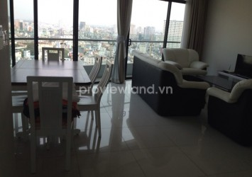 Apartment for rent in City Garden 117sqm 2 bedrooms beautiful city view