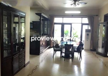Villa for rent in Thao Dien ward District 2 600sqm contains pool and garage with riverview