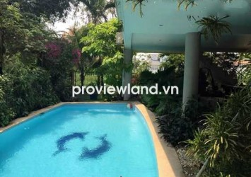 Villa for sale in Thao Dien area 18x20 sqm with pool and garage