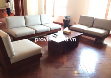 Penthouse The Manor apartment for rent in Binh Thanh dist has 275 sqm 4 bedrooms