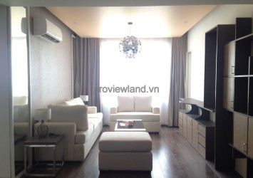 Apartment for rent in Tropic Garden 2 bedrooms high floor modern style