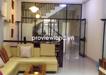 House in Binh Thanh District for rent 4 bedrooms 120 sqm 3 floors in car alley