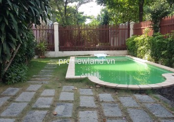 Villa for rent in Thao Dien 4 bedrooms 200 sqm unfurnished