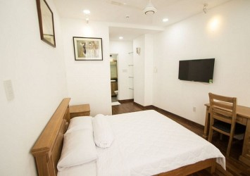 Smiley Service apartment for rent in district 1 on Nguyen Trai Street 1 bedroom