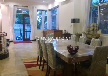 Villa for rent in District 7 in villa My Kim 2 4 bedroom fully furnished