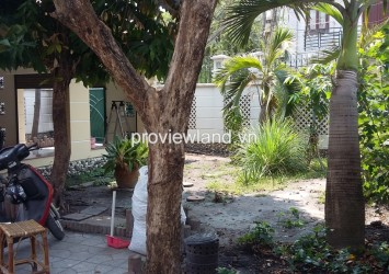 Villa for rent in District 2 on Street 12 4 bedrooms wooden floor have big garden