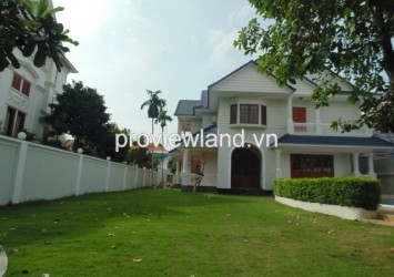 Villa for rent in District 2 on Street 55 Phu Nhuan compound 5 bedrooms nice swimming pool