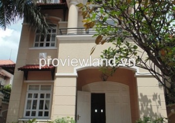 Villa for rent in District 2 on Tong Huu Dinh street 5 bedrooms 250 sqm basic furniture