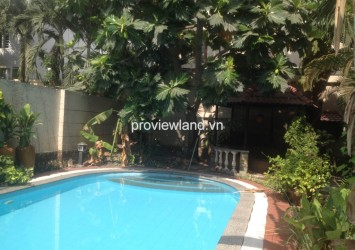 Villa for sale in Thao Dien, Xuan Thuy Street 4 bedrooms pool and garden