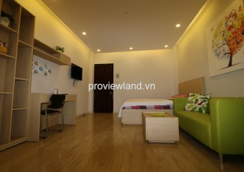 Serviced apartment for rent on Nguyen Trong Tuyen street in villa compound