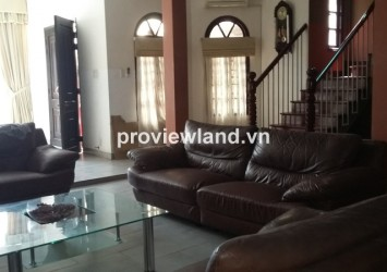 Villa for rent in Thao Dien on Quoc Huong Street District 2 7 bedrooms 200 sqm basic furniture