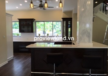 Leasing Riviera Cove villa in District 9 540sqm 2 floors 4BRS integration wiht smartphone