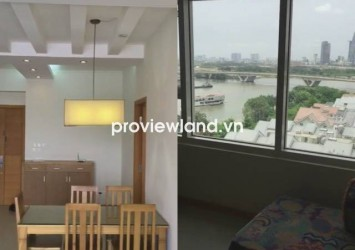 Selling Saigon Pearl apartment 100 sqm 3 bedrooms looking forward Saigon river and District 1