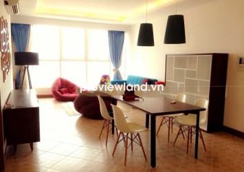 Thao Dien Pearl apartment for rent 3 bedrooms on high floor modern design very luxury
