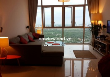 The Vista apartment for rent T1 Tower 3 bedrooms 140 sqm with nice view to city on high floor