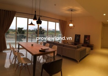 The Estella apartment for rent 3 bedrooms 148 sqm tastefully furnished with balcony view lanscape