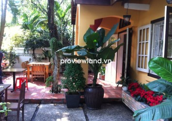 Villa for rent at Hoa Hung District 10 with 297sqm 1 floor spacious garden unfurnished