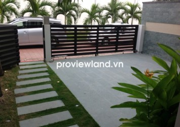 Mini villa for sale in Midpoint Compound Thao Dien 3 bedrooms 200 sqm shared pool well furnished