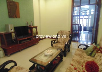 House for rent in Thao Dien on Quoc Huong Street with 3 floors 3 bedrooms full furnished
