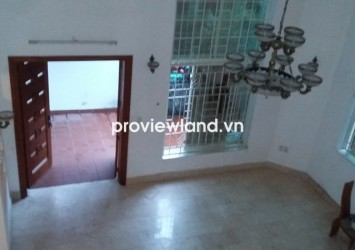 Villa for rent in Compound on Quoc Huong Str 4 bedrooms with 150 sqm 3 floors unfurnished